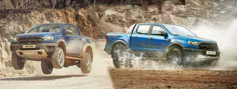 Ford Ranger ve Raptor'dan yüksek performans