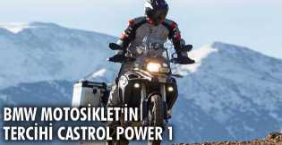 BMW Motosiklet'in Tercihi Castrol Power 1